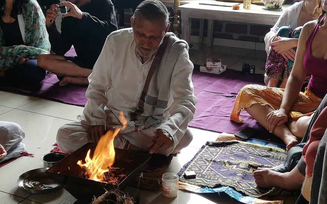 Viaje a India con los alumnos de posgrado